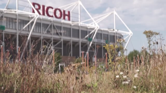 views of the ricoh arena in coventry - competition stock videos & royalty-free footage