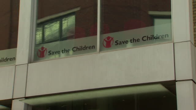 views of the save the children headquarters in london - save the children stock videos & royalty-free footage