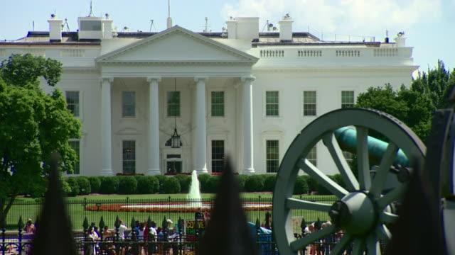 vídeos y material grabado en eventos de stock de views of the white house from the andrew jackson memorial in washington dc - andrew jackson presidente de los estados unidos