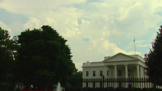 views of the white house - capital cities stock videos & royalty-free footage