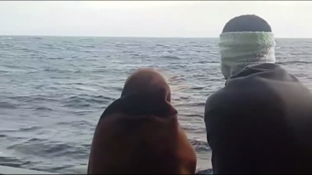 Views on board the Aquarius ship carrying migrants to Spain after being rejected in Italy