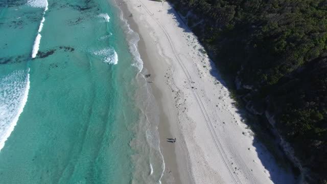 Views over the surf breaks of Ocean Beach in Denmark, Australia.