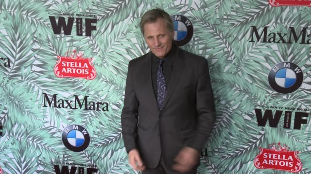 viggo mortensen at 10th annual women in film pre-oscar cocktail party presented by max mara and bmw at nightingale plaza on february 24, 2017 in los... - nightingale stock videos & royalty-free footage