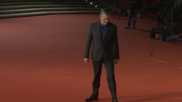 viggo mortensen at green book red carpet arrivals 13th rome film fest on october 24 2018 in rome italy - rome film fest stock videos and b-roll footage