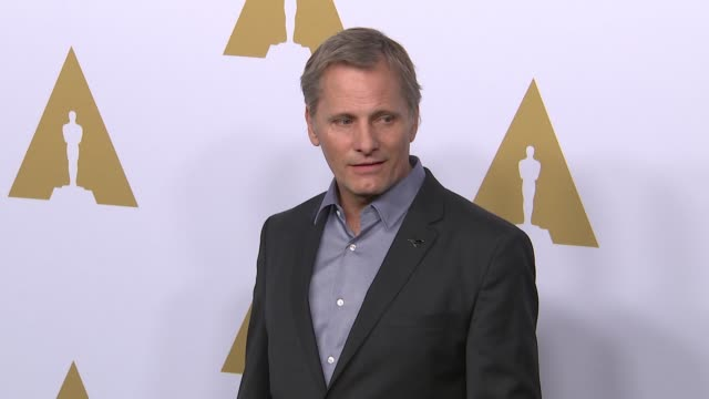 viggo mortensen at the 89th annual academy awards nominee luncheon at the beverly hilton hotel on february 06, 2017 in beverly hills, california. - the beverly hilton hotel点の映像素材/bロール