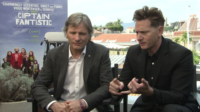 INTERVIEW Viggo Mortensen Matt Ross on the budget of the script and how this affected the shooting of the movie at 'Captain Fantastic' Interview at...