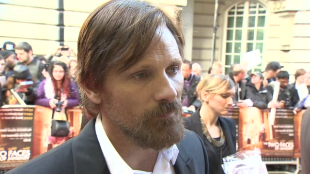 INTERVIEW Viggo Mortensen on being in the industry 30 years and the benefits of his fame coming only 10 years ago from Lord of the Rings at 'Two...