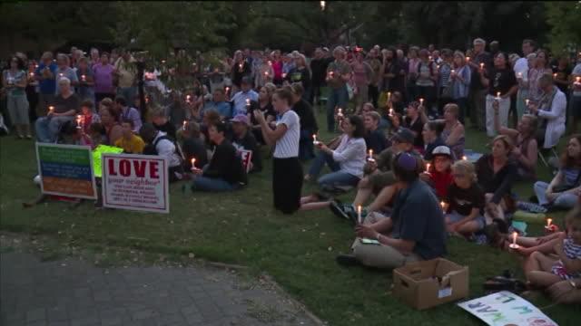 KTXL Vigil Held in Response to Virginia Violence at UC Davis campus