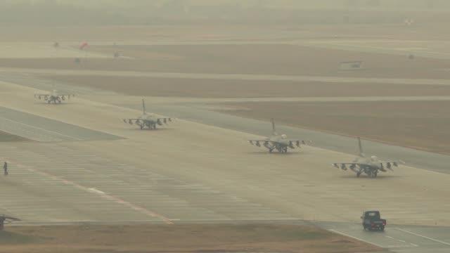 Vigilant Ace 18 Elephant Walk South Korea with C17 Globemaster and F16 Fighting Falcons