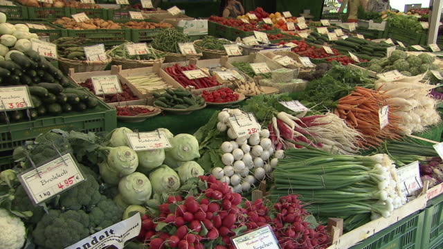 Viktualienmarkt, fruits and vegetables, prices