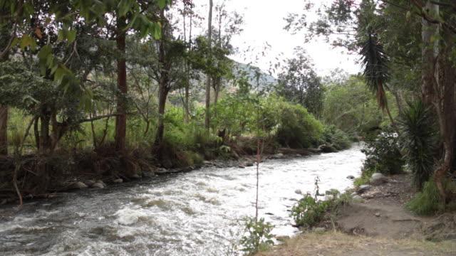 vilcabamba river. - loja stock videos and b-roll footage