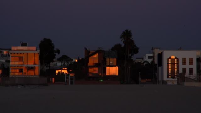villa venice beach - カリフォルニア州 ベニス点の映像素材/bロール
