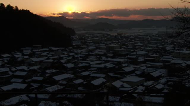 village called imadate-goka, fukui, japan - tradition stock videos & royalty-free footage