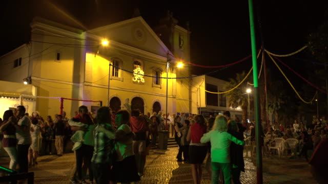 village dance - dance floor stock videos and b-roll footage
