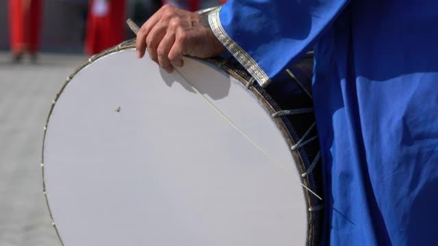 village drummer - music stock videos & royalty-free footage