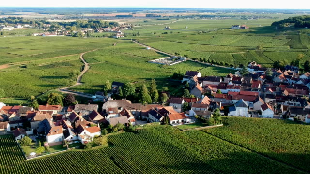 Village en Bourgogne, France