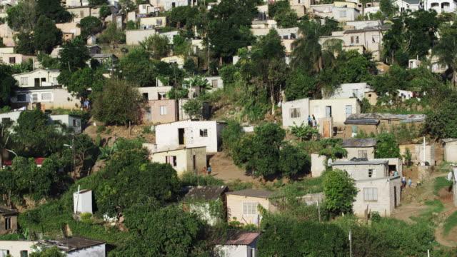 Village landscape in South Africa