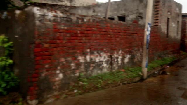 Village Narrow Street, Haryana/India