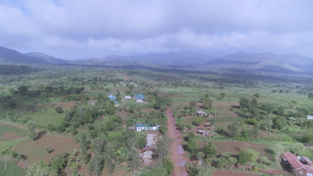 village near moshi urban district of tanzania, east africa - east africa stock videos & royalty-free footage