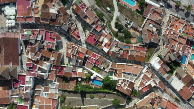 village of frigiliana / malaga, spain - square stock videos & royalty-free footage