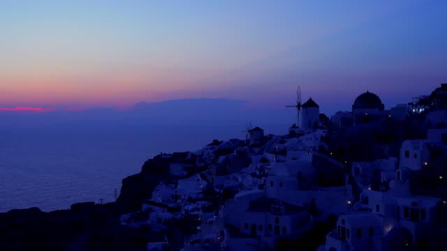 Village Oia on Santorini island, Greece
