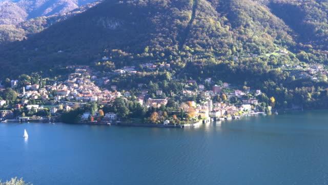 Village on Lake Como