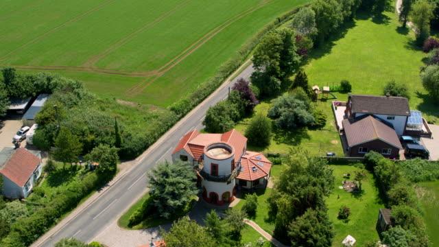 village round house, cayton bay, north yorkshire, england - village stock videos & royalty-free footage