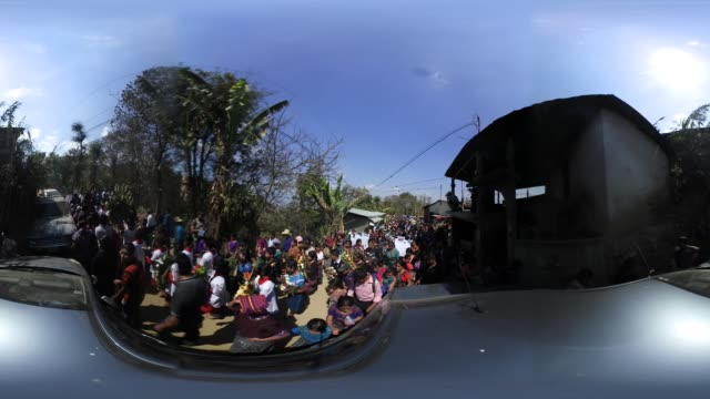 'Villagers walk in a funeral procession for two boys who were kidnapped and killed on February 14 2017 in San Juan Sacatepequez Guatemala More than...