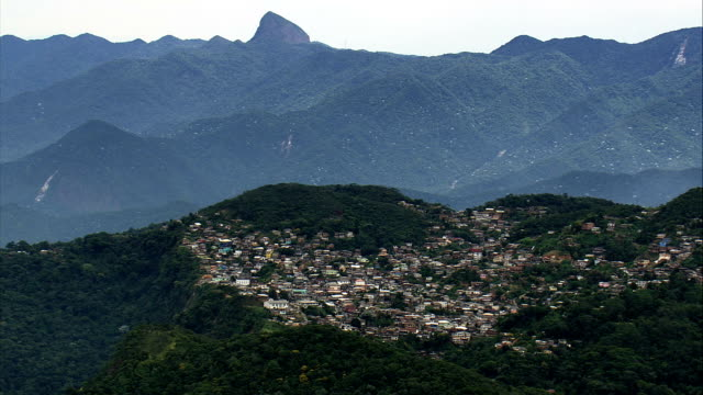 Villages And Towns In the Mountains  - Aerial View - Rio de Janeiro, Petrópolis, Brazil