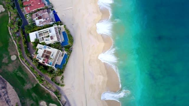 Villas Along Beach In Los Cabos, Mexico