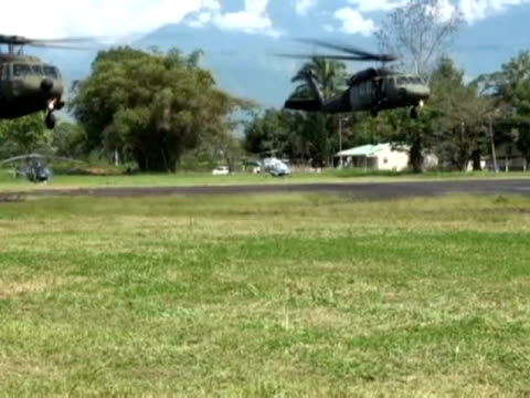 villavicencio 28 mar some 30 forensic scientists have begun the identification of the bodies of 36 farc guerrillas who died on monday during a battle... - 2012 stock videos and b-roll footage