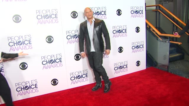 vin diesel at people's choice awards 2016 at nokia plaza la live on january 06 2016 in los angeles california - vin diesel stock videos and b-roll footage