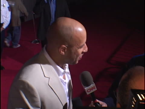 vin diesel at the the pacifier premiere at el capitan theater hollywood in hollywood ca - vin diesel stock videos and b-roll footage
