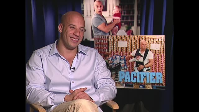 vin diesel on being the class clown - vin diesel stock videos and b-roll footage