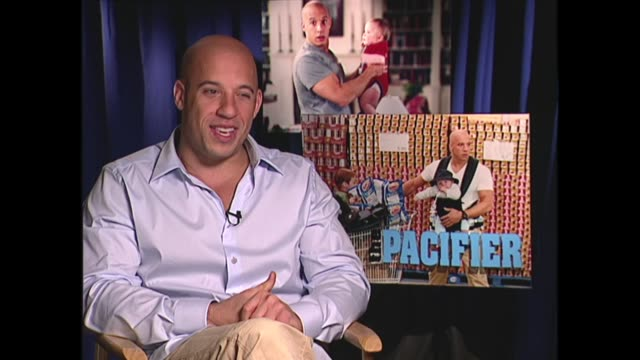 vin diesel talks about his niece and nephew - vin diesel stock videos and b-roll footage