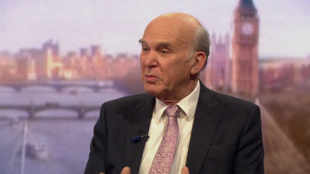 vince cable saying he intends to be liberal democrat leader at the next election although nobody has any idea when that will be - oblivious stock videos & royalty-free footage
