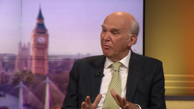 vince cable saying people are now reappraising the liberal democrats period in power as part of a coalition in 2010 - 2010 2019 stock videos & royalty-free footage