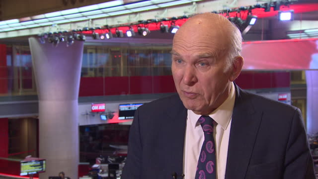 vince cable speaking about nissan moving some manufacturing to japan says brexit is just one of the factors but probably the largest - business stock videos & royalty-free footage