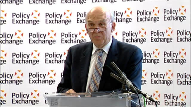 Vince Cable speech at Policy Exchange Cable speech SOT I have recently visited highly successful manufacturing companies in sectors which we seemed...