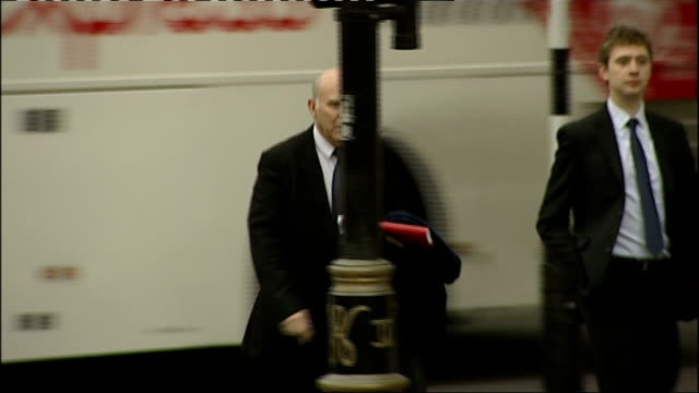 vince cable unveils budget negotiations; location unknown: vince cable mp walking along street vince cable mp interview sot - there is a perfectly... - vince cable stock videos & royalty-free footage