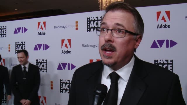 INTERVIEW Vince Gilligan on how he's feeling tonight on what it was like working on the film at 68th Annual ACE Eddie Awards in Los Angeles CA