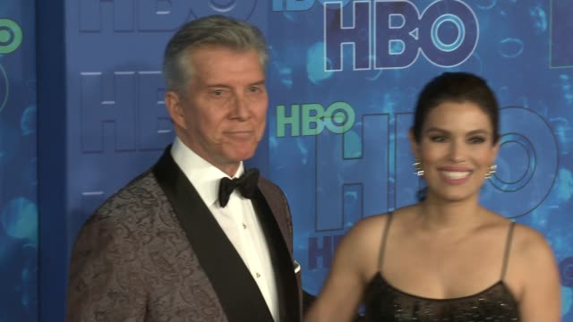 vince mcmahon at the hbo's post emmy awards reception - arrivals at the plaza at the pacific design center on september 18, 2016 in los angeles,... - pacific design center stock videos & royalty-free footage