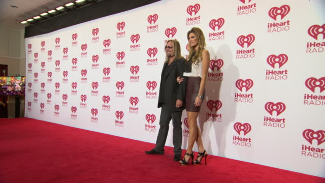 vince neil at 2014 iheartradio music festival and village day 1 at mgm grand on september 19 2014 in las vegas nevada - vince neil stock videos and b-roll footage