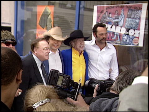 vince vaughn at the dediction of dwight yoakam's walk of fame star at the hollywood walk of fame in hollywood, california on june 5, 2003. - vince vaughn stock videos & royalty-free footage