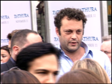 vince vaughn at the zathura premiere on november 6, 2005. - vince vaughn stock videos & royalty-free footage