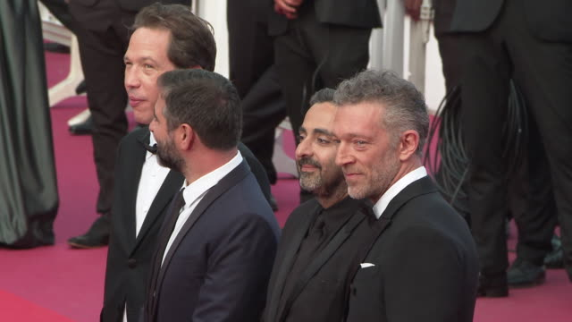 Vincent Cassel Eric Toledano Reda Kateb Olivier Nakache attends at 'Closing Ceremony ' The 72nd Cannes Film Festiva on May 25 2019 in Cannes France