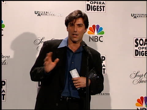 vincent irizarry at the soap opera digest awards entrances and press room at universal studios in universal city california on february 26 1999 - soap opera stock videos and b-roll footage