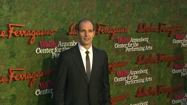 vincent ottomanelli at wallis annenberg center for the performing arts inaugural gala presented by salvatore ferragamo on 8/17/13 in los angeles, ca . - salvatore ferragamo stock videos & royalty-free footage
