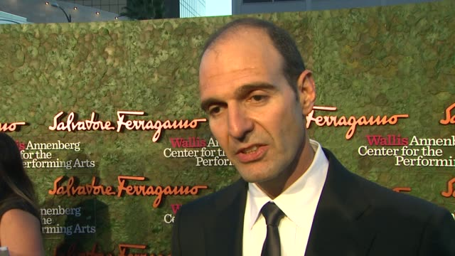 vincent ottomanelli on the event at wallis annenberg center for the performing arts inaugural gala presented by salvatore ferragamo on 8/17/13 in los... - salvatore ferragamo stock videos & royalty-free footage