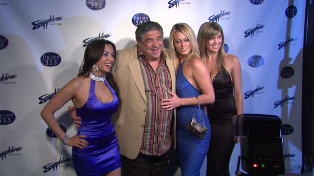 vincent pastore and guests at the grand opening of sapphire new york gentlemen's club and prime 333 at new york ny - vincent pastore stock videos and b-roll footage
